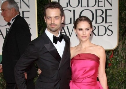 Benjamin Millepied and Natalie Portman. Photo: Andrew Evans / PR Photos