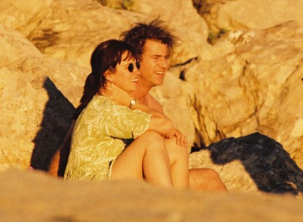 Robyn Moore and Mel Gibson. Photo: Famepictures, Inc.
