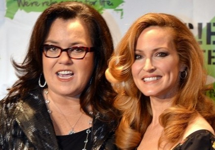 Rosie O'Donnell and Michelle Rounds. Photo: Bernadette Giacomazzo/PR Photos