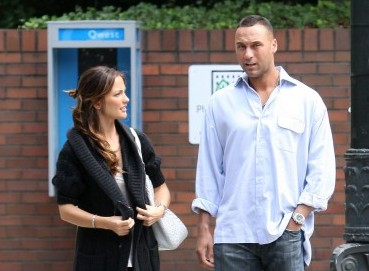 Deter Jeter and Minka Kelly.  Photo: PR/Rocstar/Flynetpictures.com