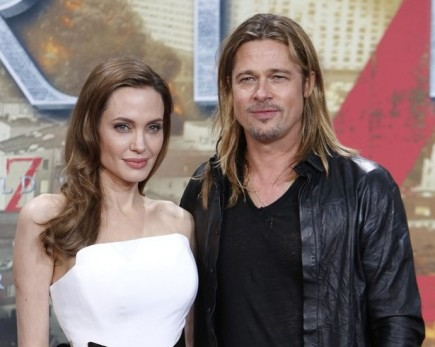 Angelina Jolie and Brad Pitt. Photo: Away! / PR Photos