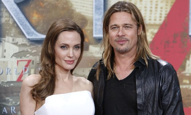 Cupid's Pulse Article: Angelina Jolie Buys Brad Pitt a Waterfall