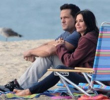Courteney Cox Says Kissing Co-Star Was Confusing to Daughter