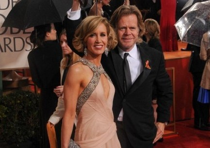 Felicity Huffman and William H. Macy. Photo: Bob Charlotte / PR Photos