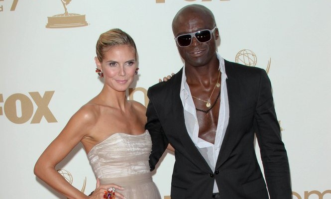 Heidi Klum and Seal. Photo: Andrew Evans / PR Photos
