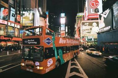 Cupid's Pulse Article: Valentine's Day Date Idea: Gray Line NYC Night on the Town Tour
