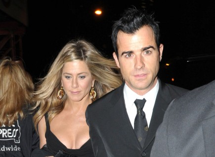 Jennifer Aniston and Justin Theroux. Photo: Marquez/Flynetpictures.com