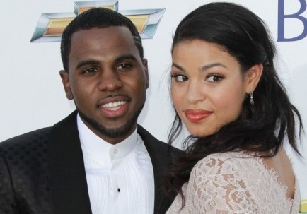 Jason Derulo and Jordin Sparks. Photo: Andrew Evans / PR Photos