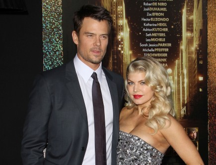 Josh Duhamel and Fergie. Photo: Juan Rico/Fame Pictures