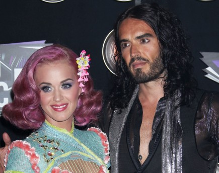 Katy Perry and Russell Brand. Photo: Gangster#1/Flynetpictures.com