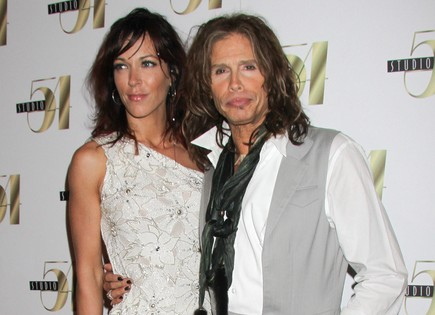 Erin Brady and Steven Tyler. Photo: PRN / PR Photos