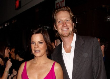 Marcia Gay Harden and Thaddaeus Scheel. Photo: Anthony G. Moore / PR Photos