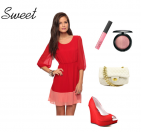 Cupid's Pulse, Valentine's Day, Outfit Ideas, Sweet Look