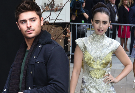 Zac Efron and Lily Collins.  Photo: MaxNY/FAMEFLYNET PICTURES, JD/FameFlynet Pictures