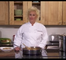 Video Exclusive: Food Network's Anne Burrell Gives Valentine's Day Cooking Tips