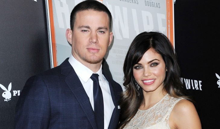 Channing Tatum and Jenna Dewan-Tatum. Photo: KM/FAMEFLYNET