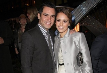 Cash Warren and Jessica Alba. Photo: Andrew Evans / PR Photos