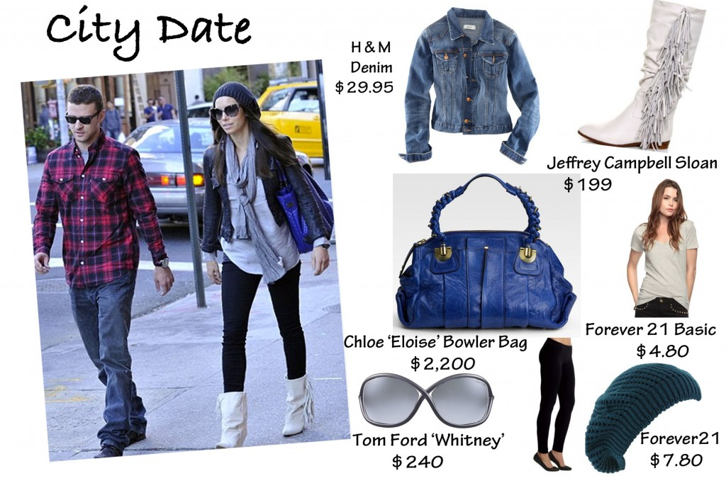 Cupid's Pulse Article: How to Get Jessica Biel's Perfect Date Looks
