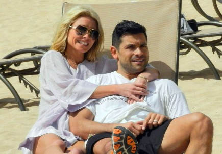 Kelly Ripa and Mark Consuelos. Photo: KOA/FameFlynet Pictures