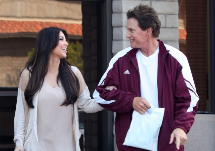 Kim Kardashian and Bruce Jenner. Photo: MP/Rocstar/Flynetpictures.com