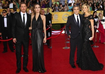 Cupid's Pulse Article: Angelina Jolie, Stacy Keibler and Their Beaus Have Awkward Run-In