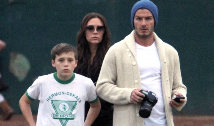 Cupid's Pulse Article: David Beckham Says Kids Are Competitive Like Him and Victoria