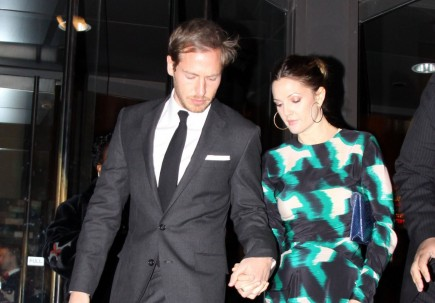 Will Kopelman and Drew Barrymore. Photo: Mark Wilkins/FAMEFLYNET