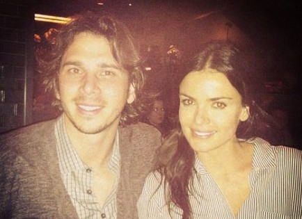 Cupid's Pulse Article: 'Bachelor' Couple Ben Flajnik and Courtney Robertson Step Out for the First Time