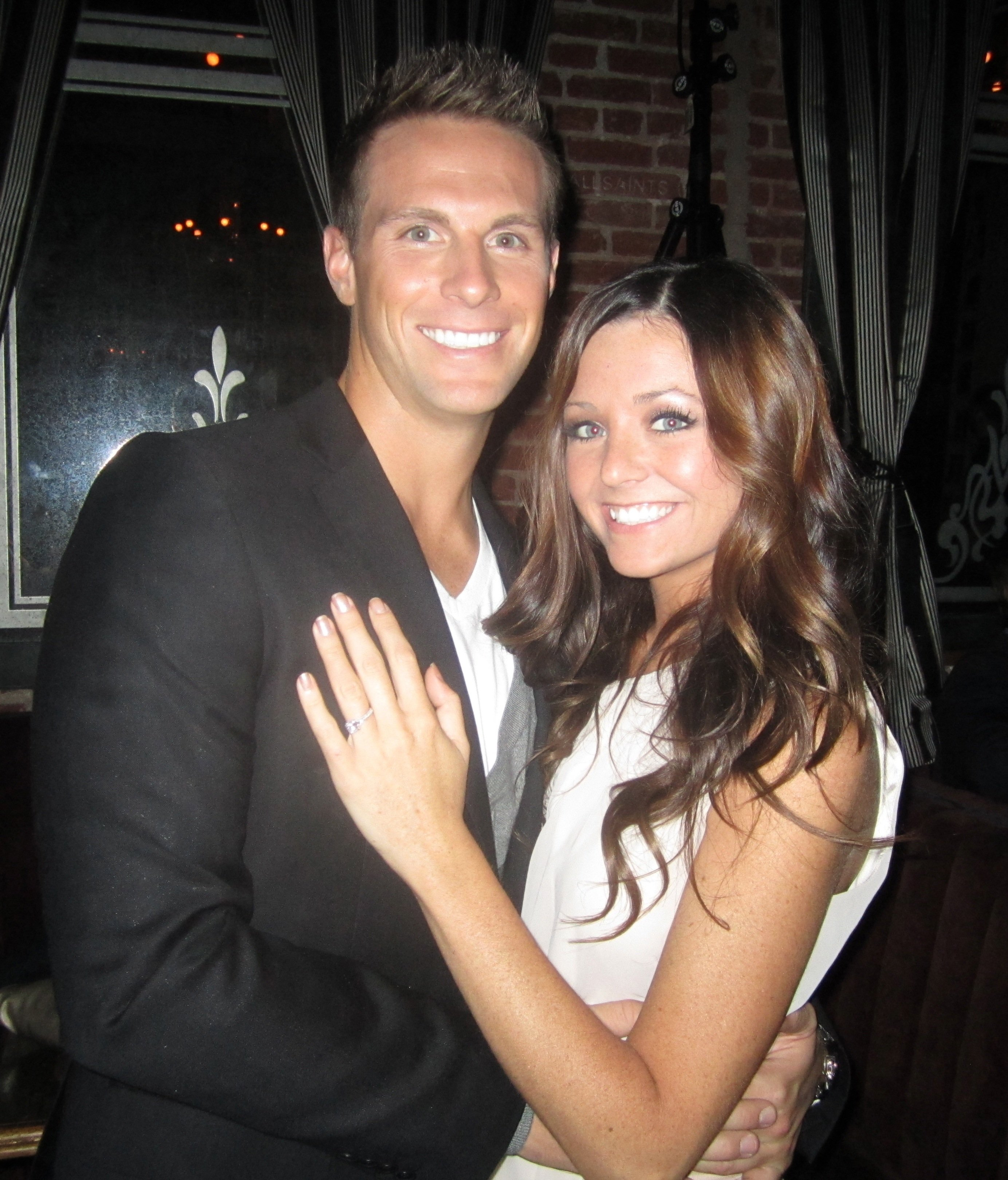 Holly Durst and Blake Julian
