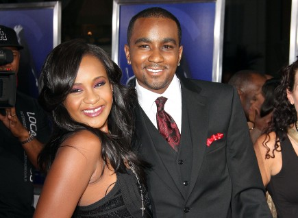 Bobbi Kristina Brown and Nick Gordon. Photo: Juan Rico/FAMEFLYNET PICTURES
