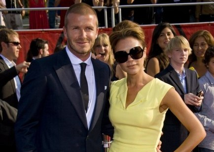 David and Victoria Beckham. Photo: Chris Hatcher / PR Photos