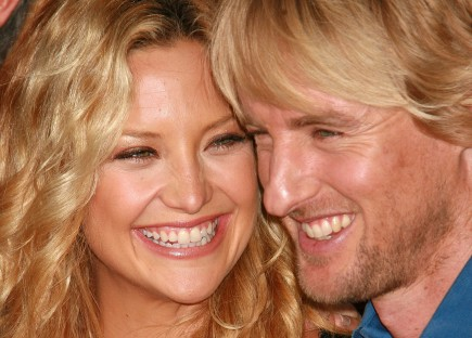 Cupid's Pulse Article: Exes Kate Hudson and Owen Wilson Have Surprise Reunion at Oscars Bash