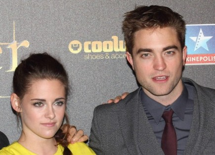 Kristen Stewart and Rob Pattinson. Photo: Solarpix / PR Photos