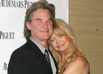 Kurt Russell and Goldie Hawn. Photo: Sylvain Gaboury / PR Photos