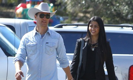 Matthew McConaughey and Camila Alves. Photo: FameFlynet Pictures