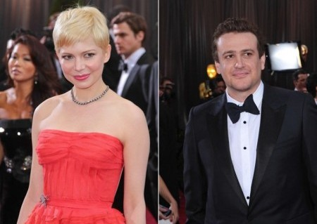 Cupid's Pulse Article: Michelle Williams and Jason Segel Show PDA at Movie Premiere
