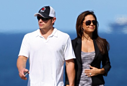 Nick and Vanessa Lachey. Photo: BOZFF/FameFlynet Pictures