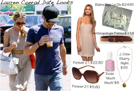 Cupid's Pulse Article: Giveaway: Steal Lauren Conrad's Fashion Dos for Date Night & Enter to Win a Stella & Dot Necklace!