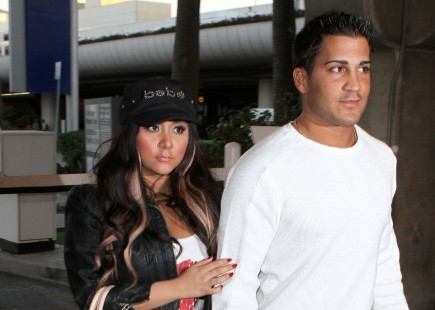Snooki and Jionni Lavalle. Photo: Gangster#1/Flynetpictures.com