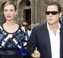 Uma Thurman Is Expecting with Arpad Busson