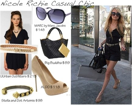 "Cupid's Pulse Article: Giveaway: Nicole Richie ""Fashion Star"" Casual Chic Style"