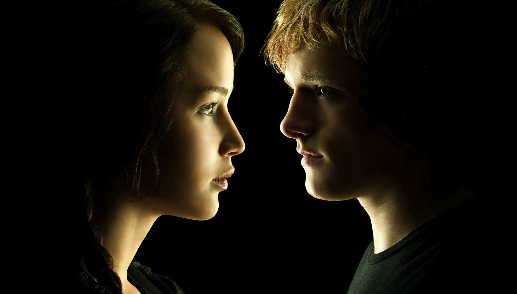Cupid's Pulse, celebrity couples, Hunger Games, relationship advice, Peeta, Katniss, Josh Hutcherson, Jennifer Lawrence
