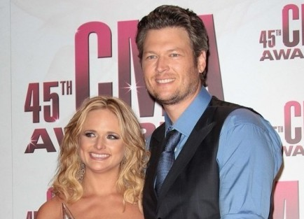 Miranda Lambert and Blake Shelton. Photo: Andrew Evans / PR Photos