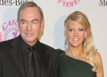 Neil Diamond and Katie McNeil. Photo: Andrew Evans  / PR Photos