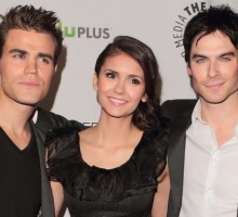 'Vampire Diaries' Co-Stars Ian Somerhalder and Nina Dobrev Sneak PDA in Bel Air