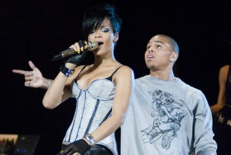 Rihanna and Chris Brown. Photo: Adam Bielawski / PR Photos