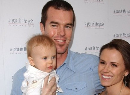 Ryan and Trista Sutter with son Max. Photo: Albert L. Ortega / PR Photos