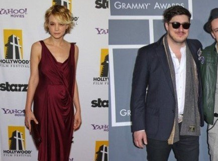 Carey Mulligan and Marcus Mumford. Photo: Chris Hatcher / PR Photos; Andrew Evans / PR Photos