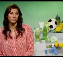 U.S. Women's Soccer Star Hope Solo Chats About Her Training and Love Life