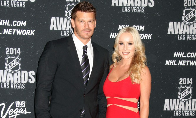 David Boreanaz and his wife Jaime weathered a cheating scandal. Photo: PRN / PRPhotos.com